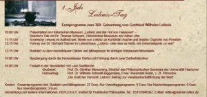 Leibniztag 2006